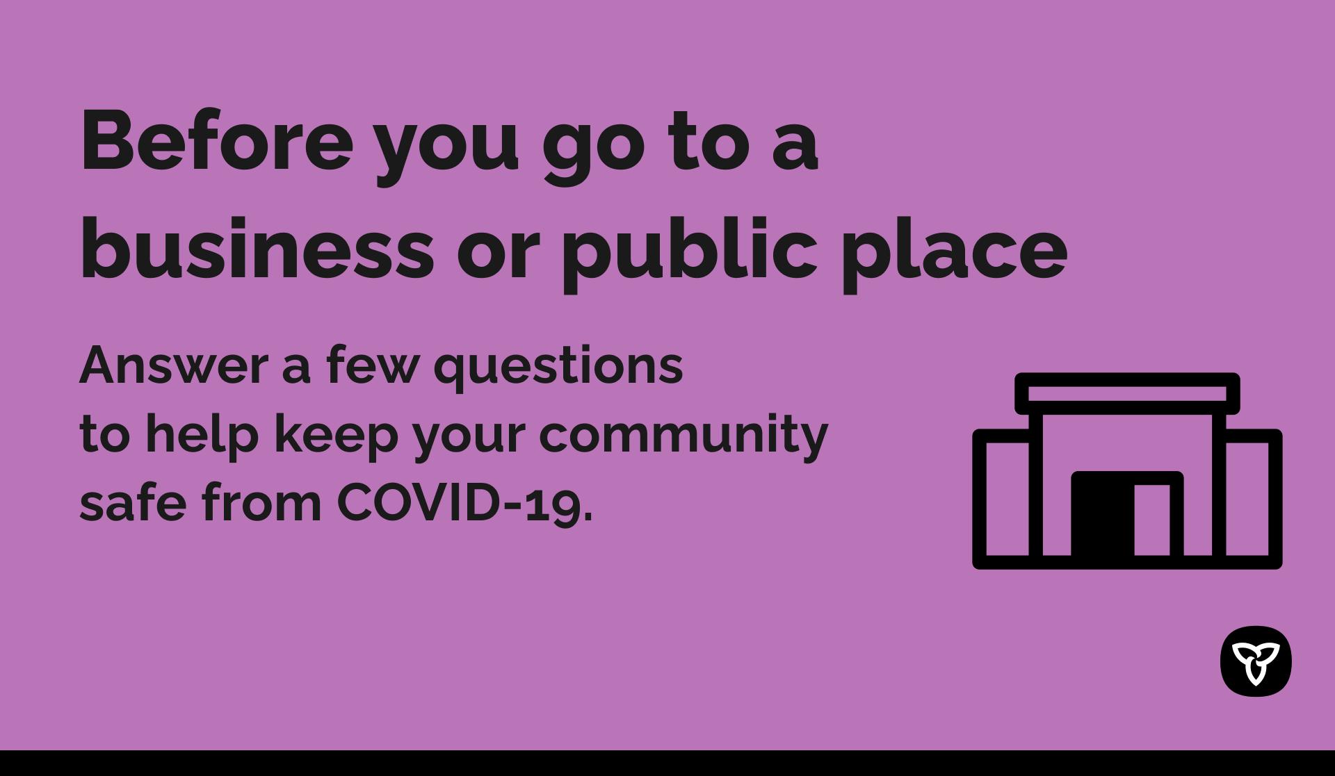 COVID-19 customer screening