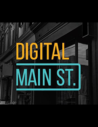 """Digital Main Street"" logo"